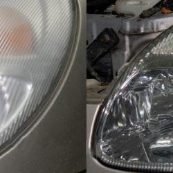 Восстановление оптики автомобиля